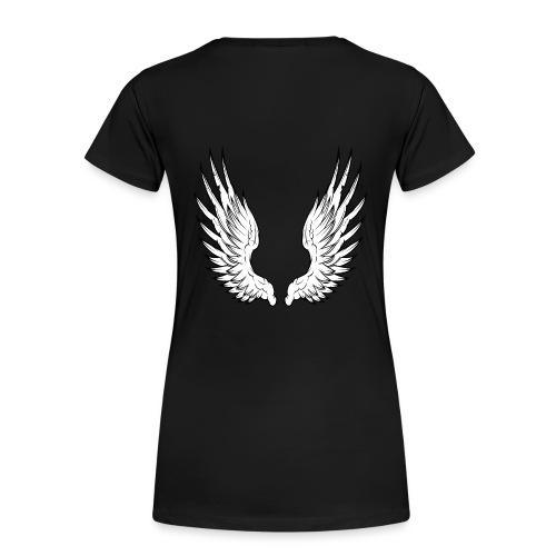 tee shirt ailes dos - T-shirt Premium Femme