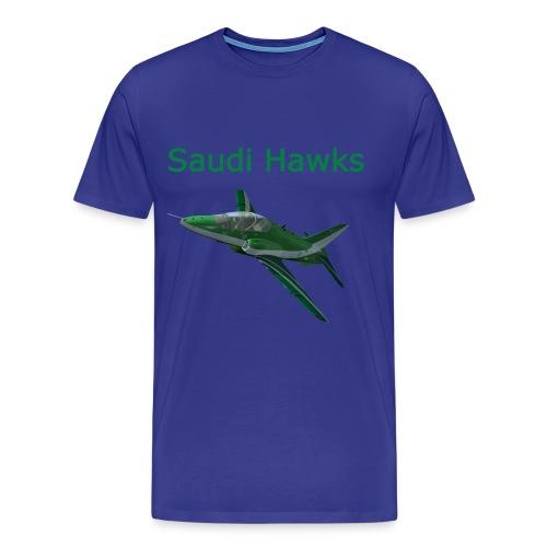 Saudi Hawks aerobatic team shirt - Men's Premium T-Shirt