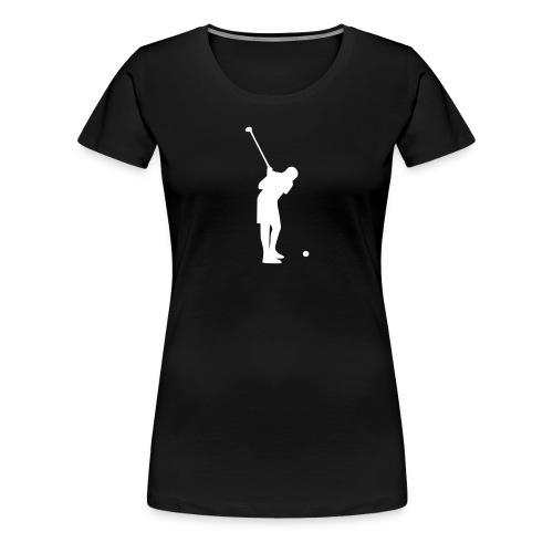 golf - Naisten premium t-paita