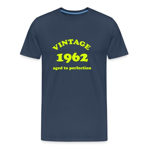 Vintage 1962 aged to perfection - Men's Premium T-Shirt