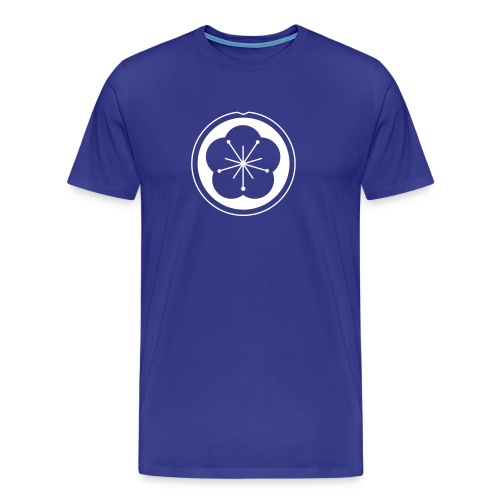 Kung Fu Pflaumenblüte Easy - Männer Premium T-Shirt