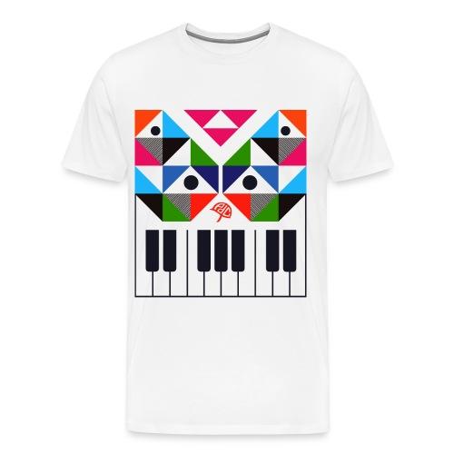 Keyboard - Mannen Premium T-shirt
