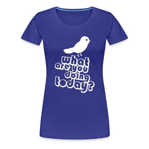 Bird Top - Vrouwen Premium T-shirt
