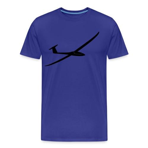 T-Shirt mit Segelflugzeug 2 - Männer Premium T-Shirt