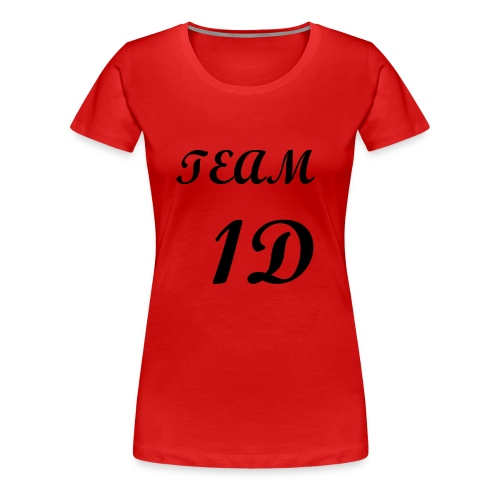 One Direction Fans Tee 1D - Women's Premium T-Shirt