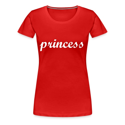 Girlie T-Shirt Princess - Frauen Premium T-Shirt