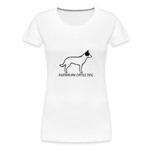 Australian Cattle Dog - Frauen Premium T-Shirt