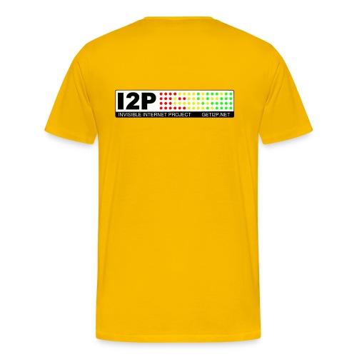 +Donation: Official I2P T-Shirt - Men's Premium T-Shirt