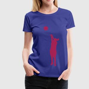 Women basketball - Vrouwen Premium T-shirt