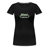 T-Shirts ~ Women's Premium T-Shirt ~ Plus size women's glow-in-the-dark logo
