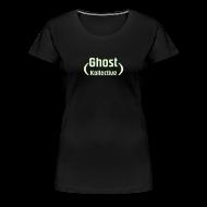 T-Shirts ~ Women's Premium T-Shirt ~ Plus size women's glow-in-the-dark logo