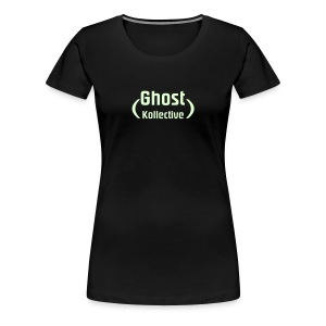 Plus size women's glow-in-the-dark logo - Women's Premium T-Shirt