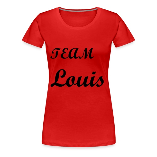 One Direction Fans Tee Louis - Women's Premium T-Shirt