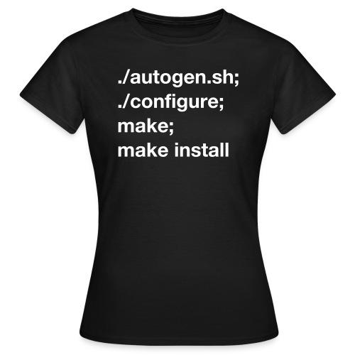 ./autogen.sh - Women's T-Shirt