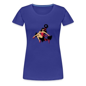 smashing pin up T-shirt - Vrouwen Premium T-shirt