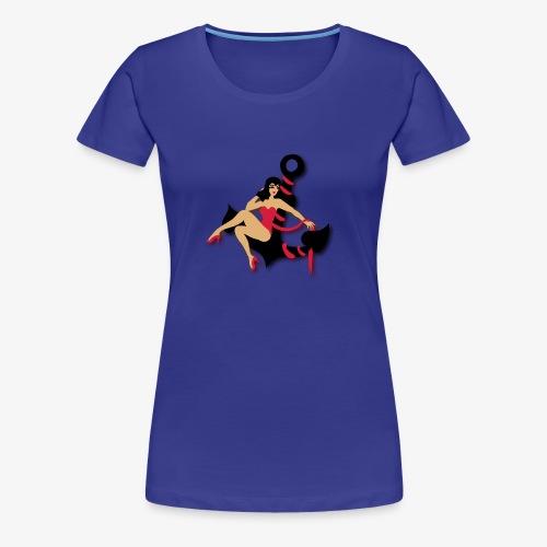 smashing pin up T-shirt - Women's Premium T-Shirt