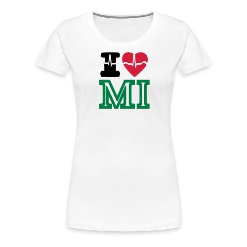 i love Michigan - T-shirt Premium Femme