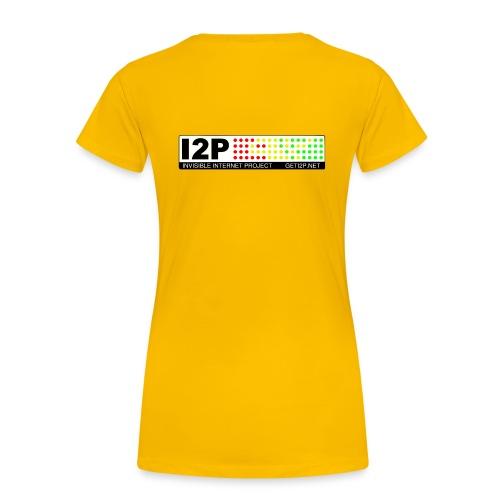 Official I2P T-Shirt - Women's Premium T-Shirt
