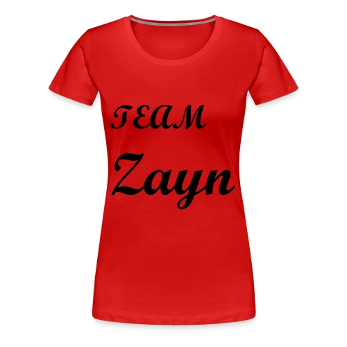 One Direction Fans Tee Zayn - Women's Premium T-Shirt