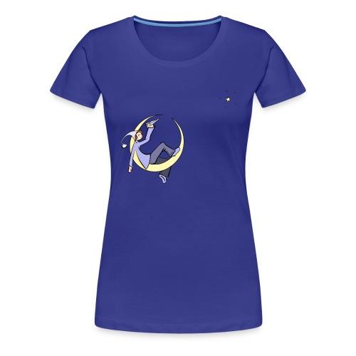 Rêve de lune - T-shirt Premium Femme