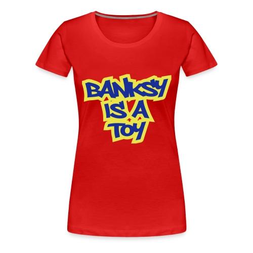 Toy Banksy - Women's Premium T-Shirt