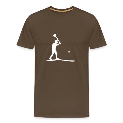 T-Shirt Bodenkundler - I love soil - Männer Premium T-Shirt