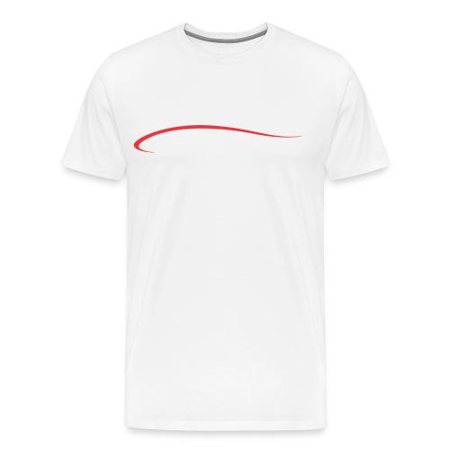 Kayak blade men's white - Men's Premium T-Shirt