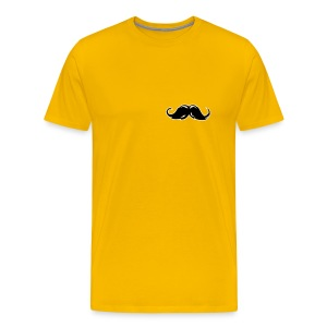 Moustache small - Mannen Premium T-shirt