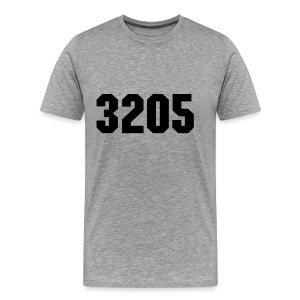 3205 WLC Grey/Black - Mannen Premium T-shirt