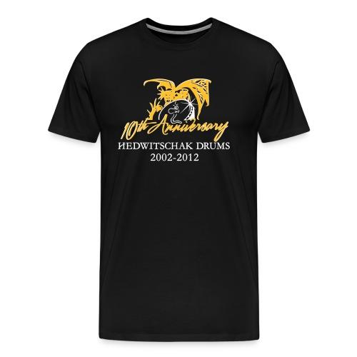 plus size men black - Men's Premium T-Shirt