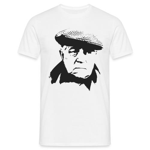 Jean Gabin - Portrait - Noir/Beige - T-shirt Homme
