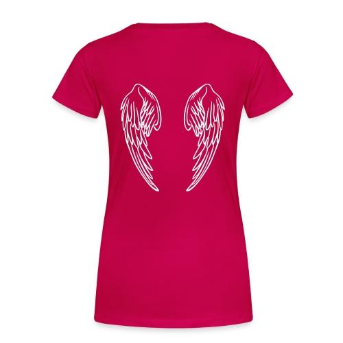 Frauen Girlieshirt G Kayn/ Engelsflügel - Frauen Premium T-Shirt