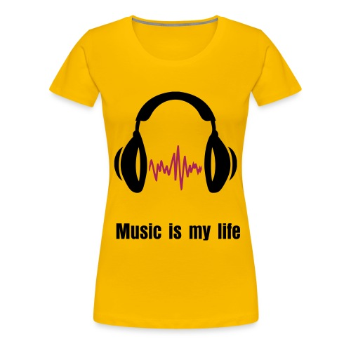 Mad about music - Women's Premium T-Shirt