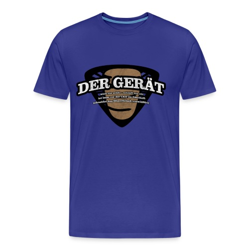Der Gerät gelb - Männer Premium T-Shirt