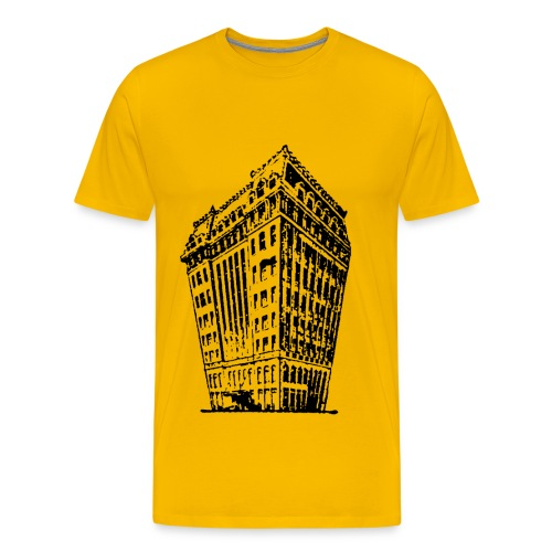 big building - Mannen Premium T-shirt