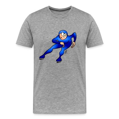 Speed skater - Men's Premium T-Shirt