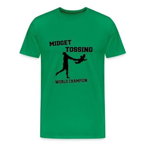 Midget Tossing Classic Tee - Men's Premium T-Shirt