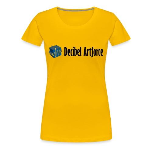 Girlie Shirt Decibel Artforce - Frauen Premium T-Shirt