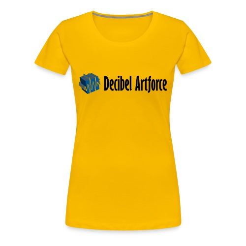 Girlie Shirt Decibel Artforce - Frauen Premium T-Shirt