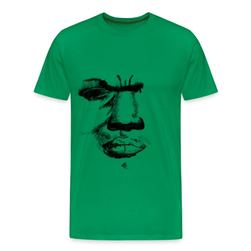 angry - Mannen Premium T-shirt