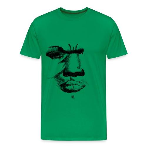 angry - Mannen Premium T-shirt