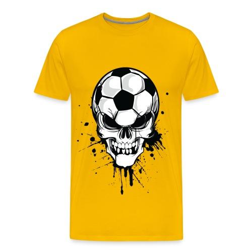 Camiseta premium hombre - Deja bien claro que el futbol es lo mas importante para ti.