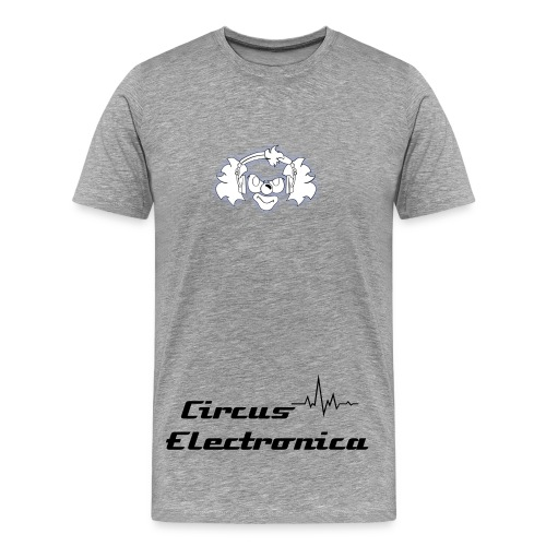 Circus Electronica ( White ) - Männer Premium T-Shirt