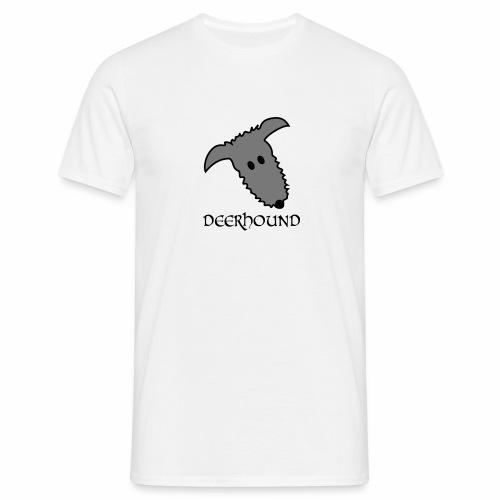 Comic-Deerhound - Männer T-Shirt