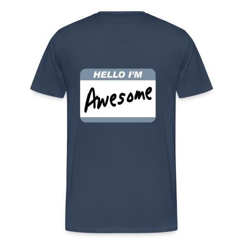 AllSorts Men's Awesome T-Shirt - Men's Premium T-Shirt
