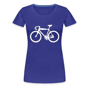Bike Women's Girlie Shirt - Women's Premium T-Shirt