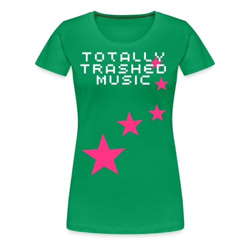 Trashed Stars - Women's Premium T-Shirt