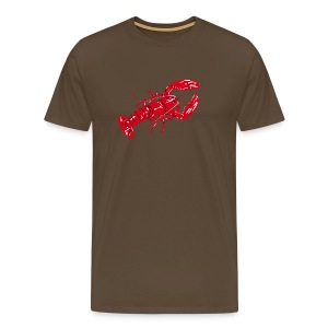 Lobster on color - Men's Premium T-Shirt