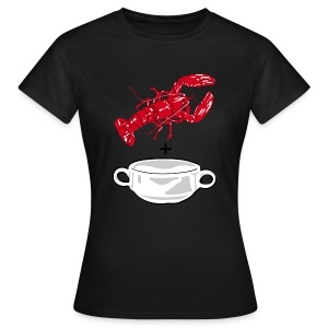 Lobster Soup on color - Women's T-Shirt