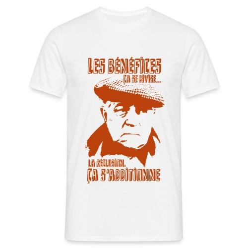 Jean Gabin - Le cave se rebiffe - Orange/Beige - T-shirt Homme
